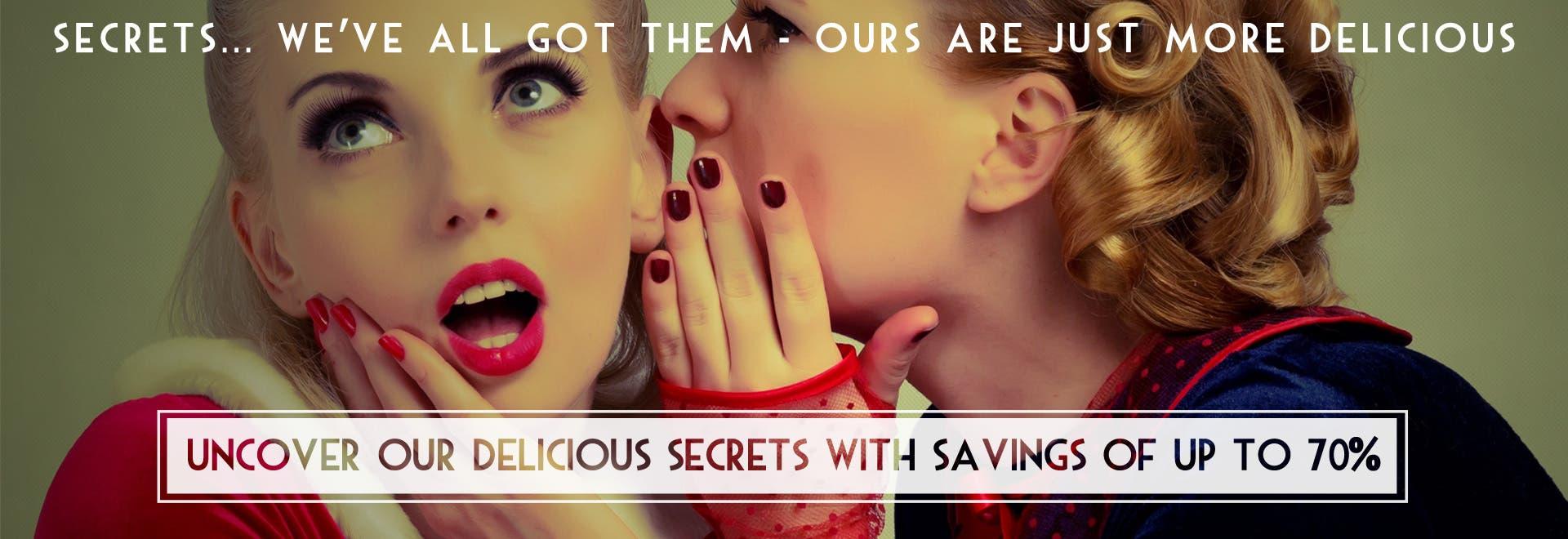 Shhhh! Secrets...
