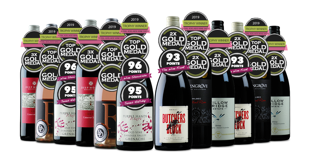 The 2019 Official Royal Adelaide Wine Show Dozen - Red