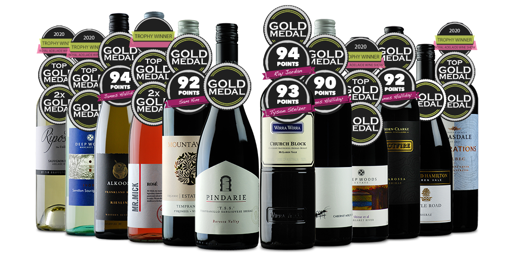 The 2020 Official Royal Adelaide Wine Show Dozen - Mixed