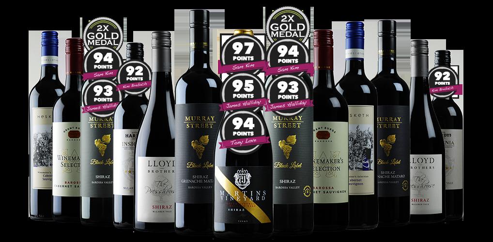 13 Resplendent Reds from Winning Winemakers