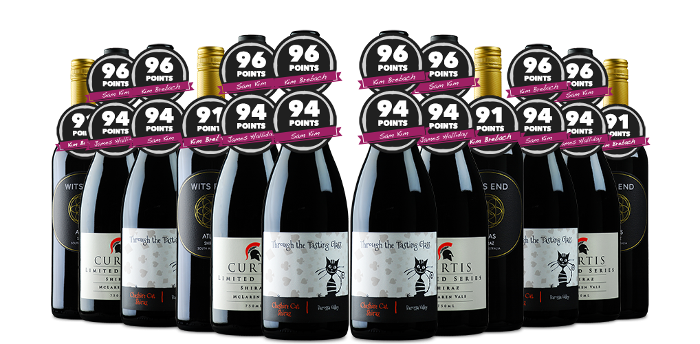 Holy Shiraz, including a Couple of Brilliant 96 Pointers