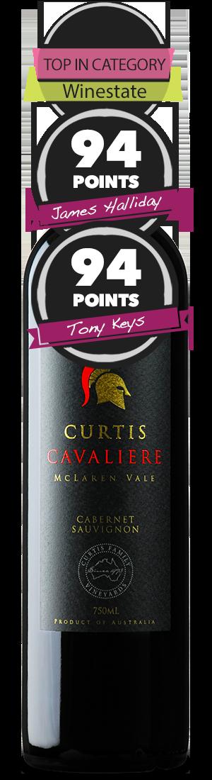 Curtis Family Vineyards Cavaliere Cabernet Sauvignon