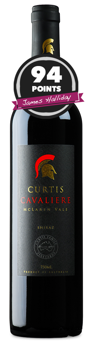 Curtis Family Vineyards Cavaliere Shiraz