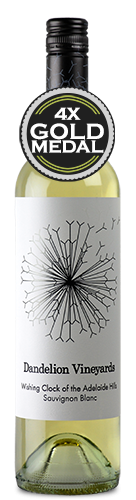 Dandelion Wishing Clock of the Adelaide Hills Sauvignon Blanc