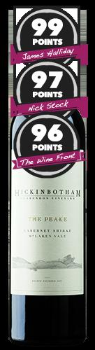 Hickinbotham Clarendon Vineyard 'The Peake' McLaren Vale Cabernet Shiraz