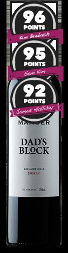 Manser 'Dad's Block' Adelaide Hills Shiraz
