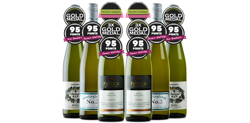 Six of the Best - Regaled by Riesling with FREE Freight