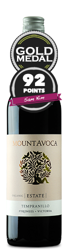 Mount Avoca Estate Organic Tempranillo