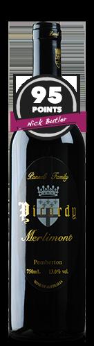 Picardy Pemberton 'Merlimont' Merlot, Cabernet Sauvignon, Cabernet Franc