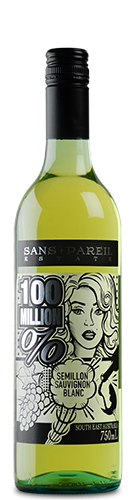 Sans + Pareil Estate 100 million % Semillon Sauvignon Blanc