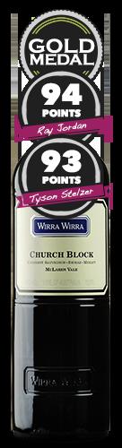 Wirra Wirra 'Church Block' Cabernet Shiraz Merlot
