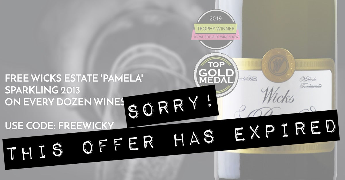 EXPIRED - Grab a FREE Wicks Estate Bubbles on us!