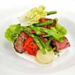 Peppered Beef Salad