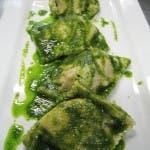 Ravioli Ossobuco with Salsa Verde