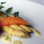 White Asparagus & Citrus Salad