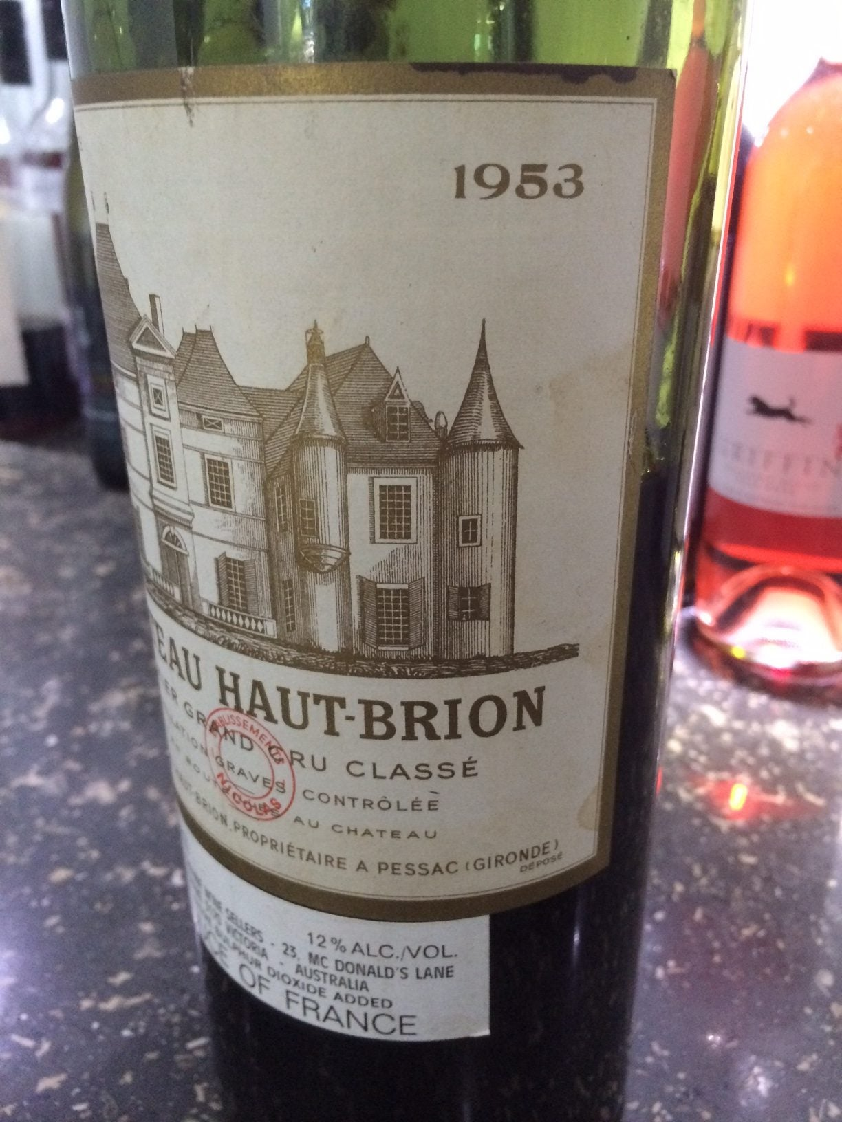 Getting to Know Matt: Dreaming of a Chateau Haut Brion 1953..