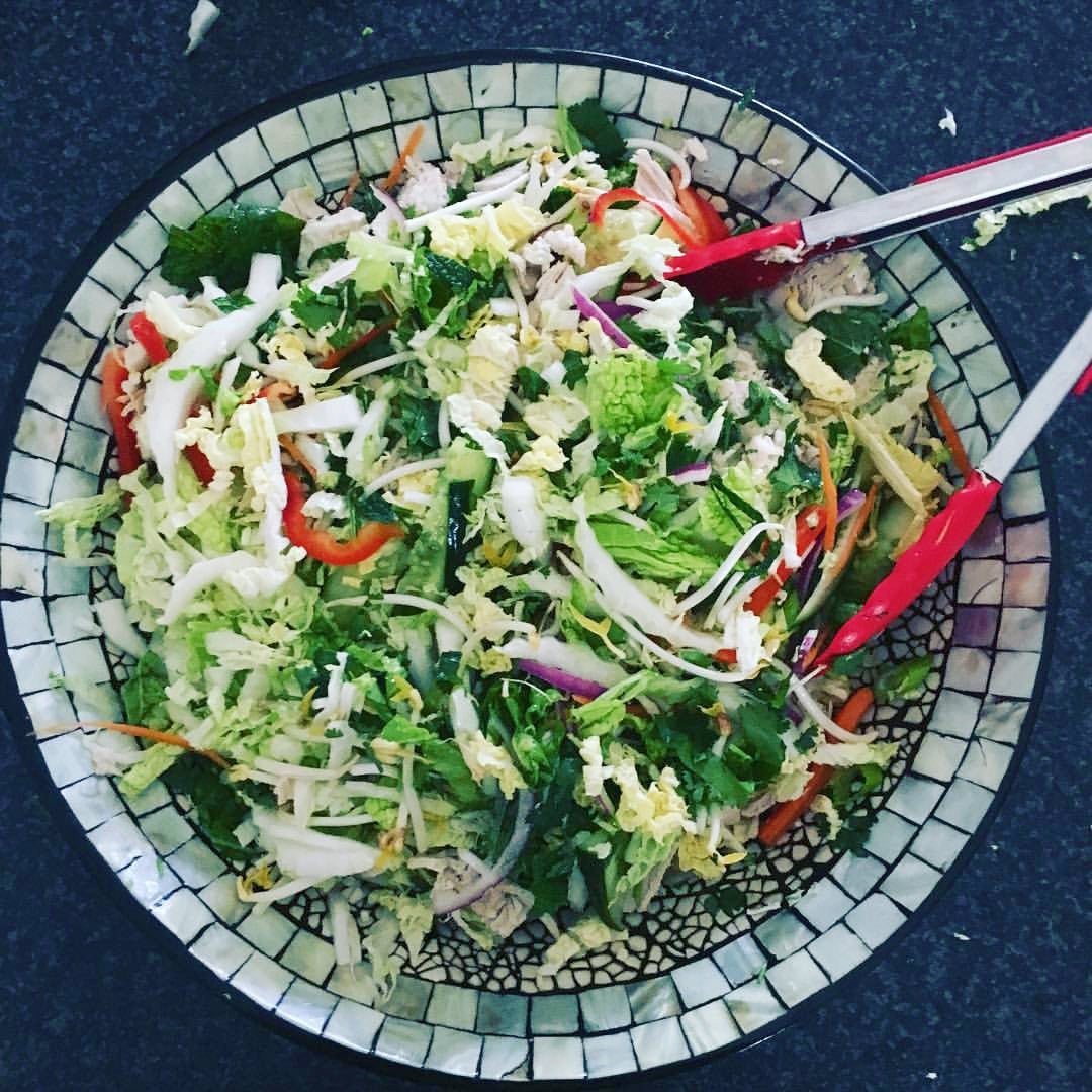 Vietnamese Poached Chicken Salad