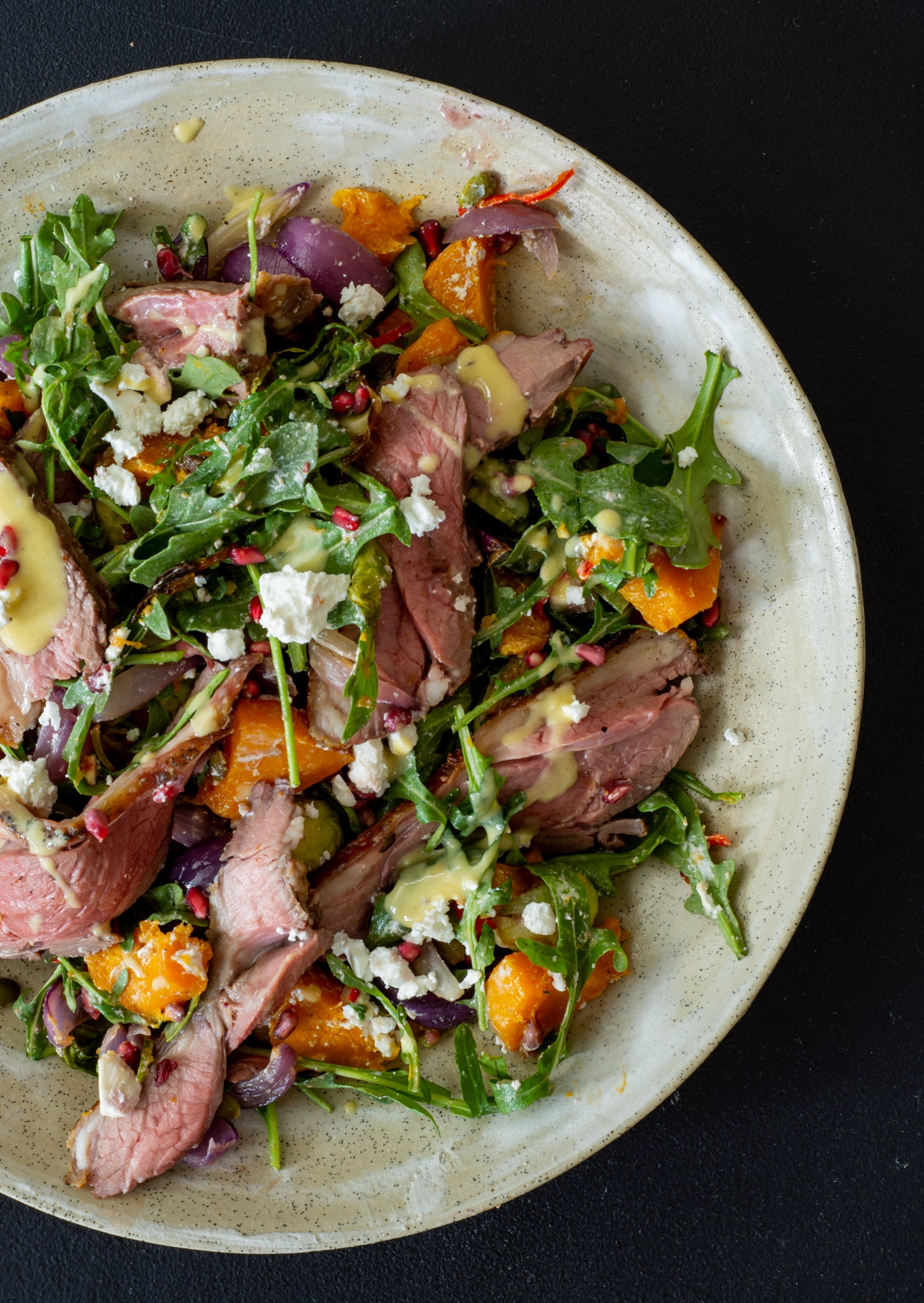 Grilled Lamb & Roasted Veg Salad