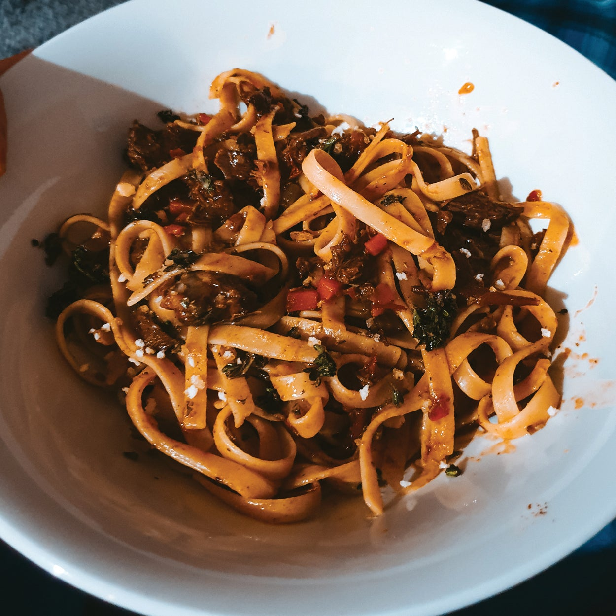 Dan's Attempt at Another Food Blogger's Beef Cheek Ragu!