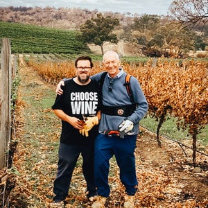 Pruning at Tomich After the Fires
