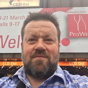 Matt in Prowein & Champagne 2017