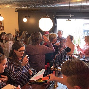 Urban Wine Walk 2018 Wine-Down