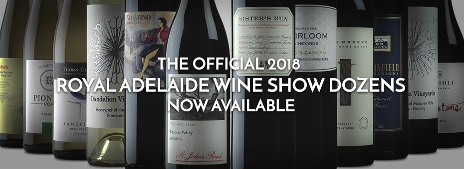 Official 2018 Royal Adelaide Wine Show Dozens