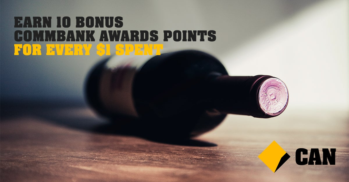 Earn 10 Bonus CommBank Award Points for Every $1 Spent
