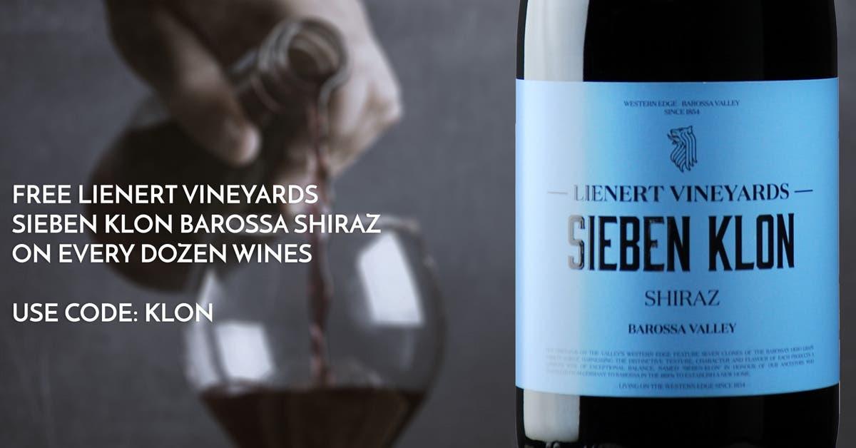 FREE Lienert Vineyards 'Sieben Klon' Barossa Valley Shiraz 2019 on any Dozen