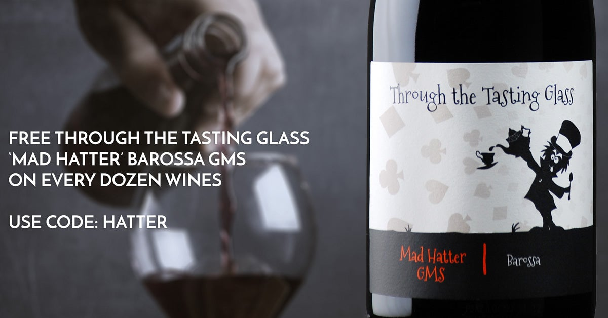 FREE Through the Tasting Glass 'Mad Hatter' GMS 2017 on any Dozen